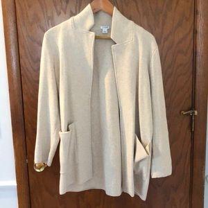 JCrew factory sweater blazer size M